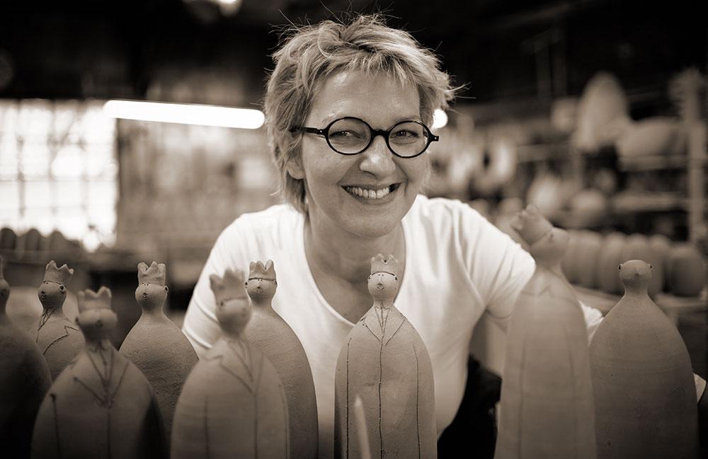 Porträt der Künstlerin Susanne Boerner