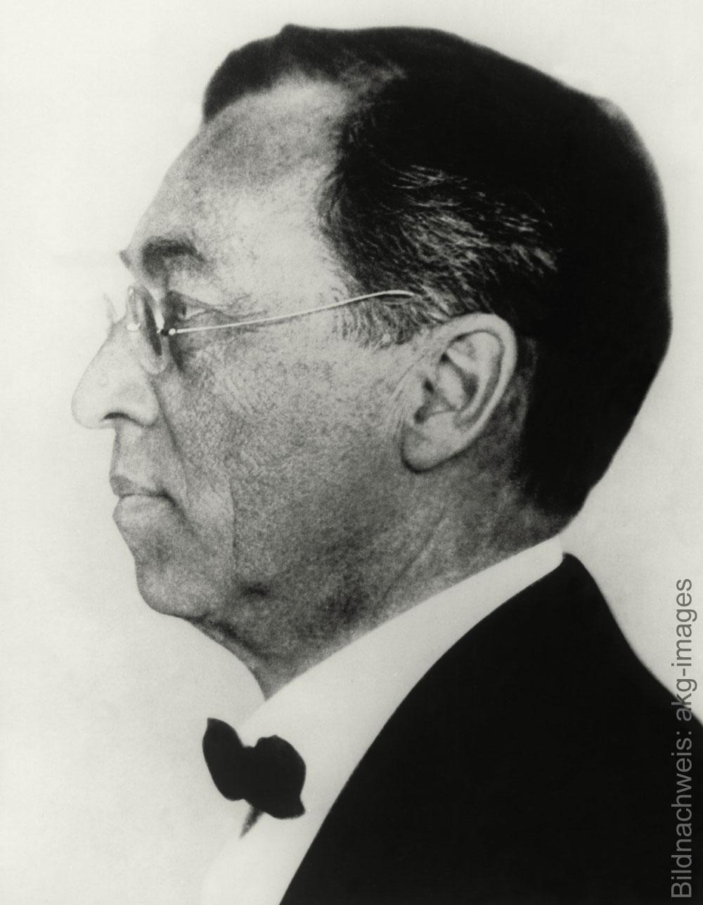 Porträt des Künstlers wassily Kandinsky