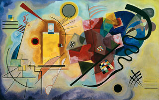 "Bild ""Gelb - Rot - Blau"" (1925)"