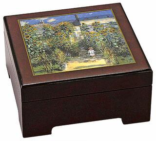 "Musik-Schmuckbox ""Le Jardin de Monet à Vétheuil"""