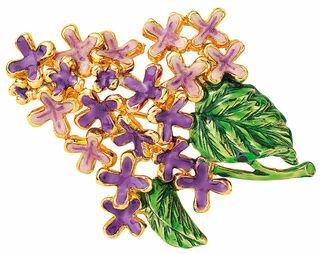 """Brosche """"Lilac"""""""