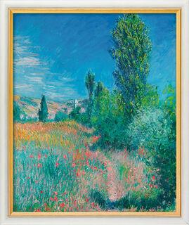"""Bild """"Landschaft auf Saint-Martin"""" (1881), gerahmt"""