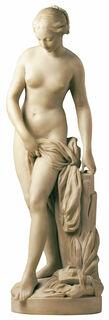 "Skulptur ""Badende"" (Originalgröße), Kunstmarmor"