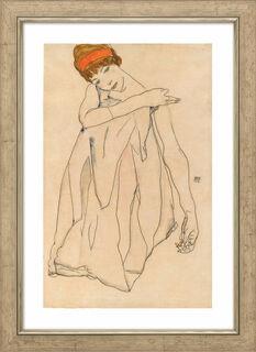 """Bild """"Die Tänzerin"""" (1913), gerahmt"""