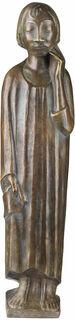 """Skulptur """"Der Sinnende II"""" (1934), Reduktion in Bronze"""