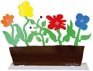 "Gartenskulptur ""Monster-Blumenkasten"""