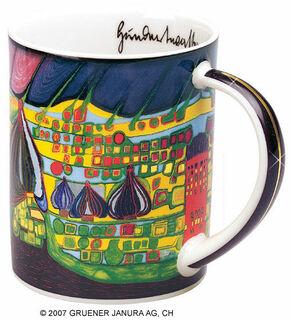 """Magic Mug """"Yellow last will"""", Porzellan"""
