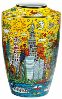 "Porzellanvase ""My New York City Sunset"""