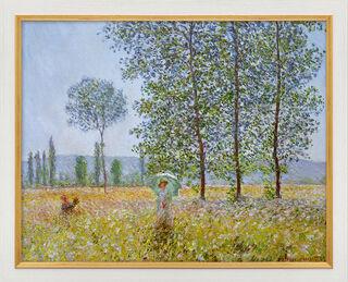 """Bild """"Felder im Frühling"""" (1887), gerahmt"""