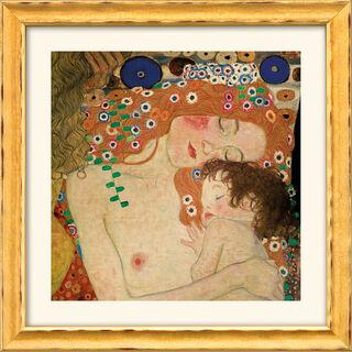 """Bild """"Mutter und Kind"""" (1905), gerahmt"""