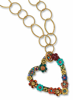 """Collier """"Heart of Flowers"""""""