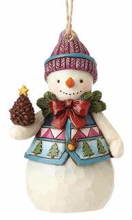 "Weihnachtsanhänger ""Snowman"""