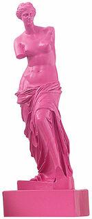"Skulptur ""Venus von Milo - Pink"" (Reduktion, Höhe 32 cm), Kunstmarmor"