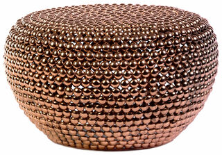"""Hocker / Beistelltisch """"Copperball"""""""