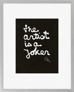 "Bild ""The Joker"", gerahmt"