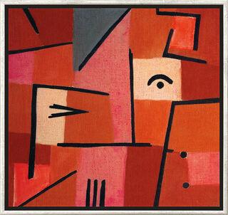 "Bild ""Blick aus Rot"" (1937), gerahmt"