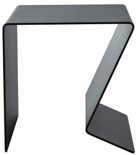 """Multifunktionaler Beistelltisch """"BUK"""", schwarze Version"""