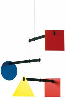 """Decken-Mobile """"Bauhaus"""", große Version"""