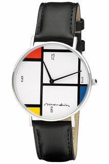 """Künstler-Armbanduhr """"Mondrian - Tableau Nr. IV"""""""