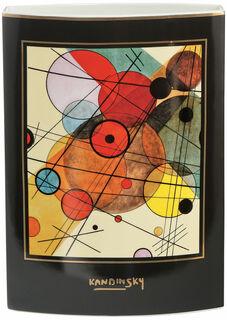 "Doppelseitige Porzellanvase ""Kreise in einem Kreis"" (1923)"