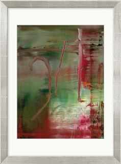 """Bild """"Abstraktes Bild"""" (2004), gerahmt"""
