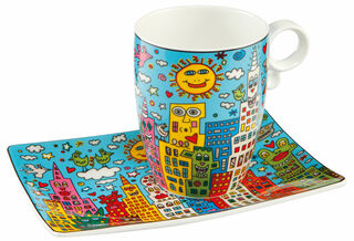 "Kaffeetasse ""My New York City Day"", Porzellan"