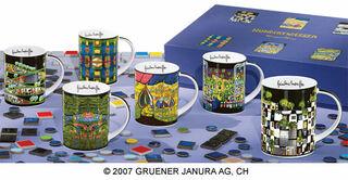 """6 Becher """"Magic Mugs"""" im Set, Porzellan"""