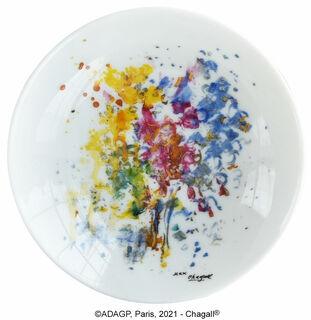 """Kollektion """"Les Bouquets de fleurs"""" von Bernardaud - Porzellanschüssel"""