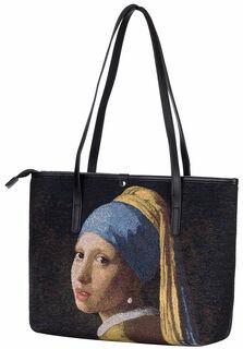 """Tasche """"Das Mädchen mit dem Perlenohrring"""""""